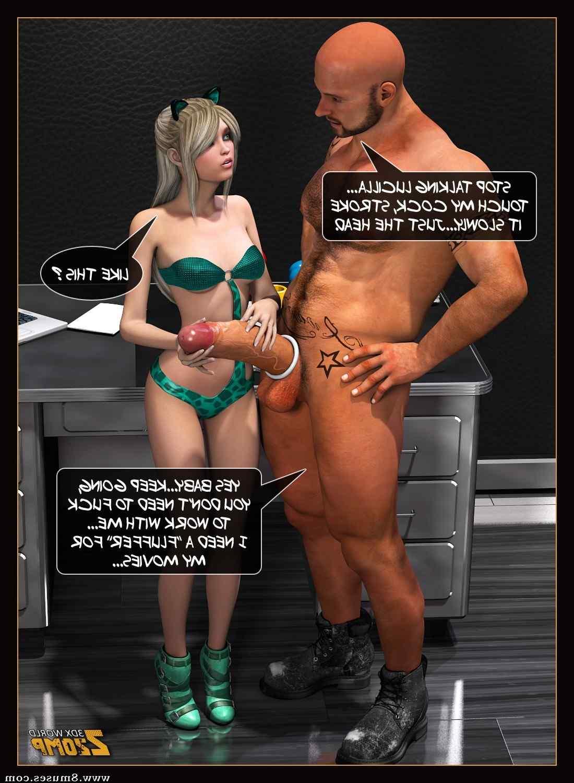 Introducing Lucilla  Sex Comics