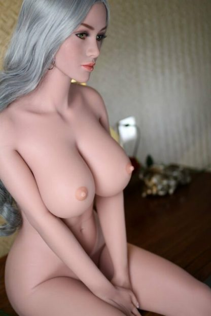 Mel: Green Eyed Curvy Sex Doll