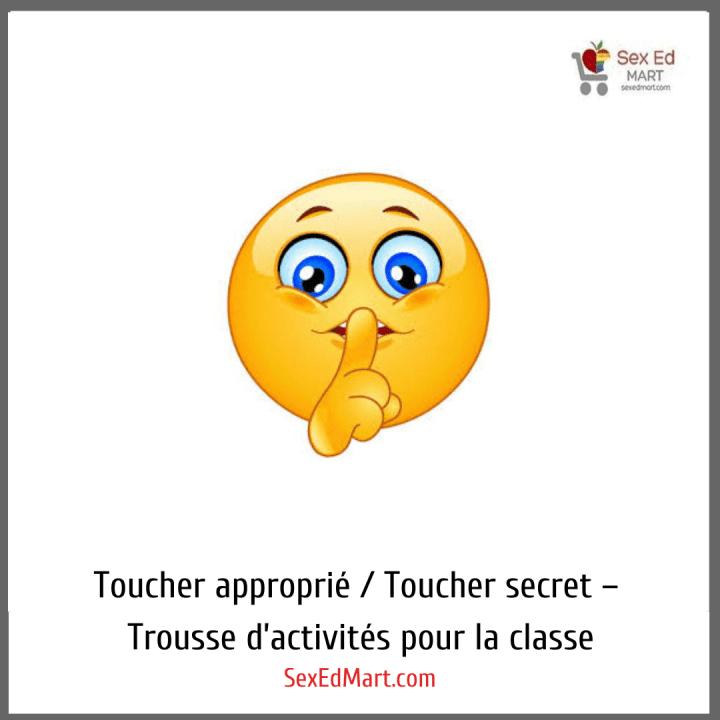 Toucher approprié / Toucher secret – Trousse d'activités pour la classe