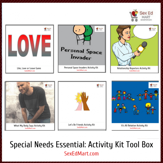Special Needs Essential Activity Kit Teacher's Tool Box