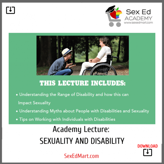 Academy Lecture sexuality and disability