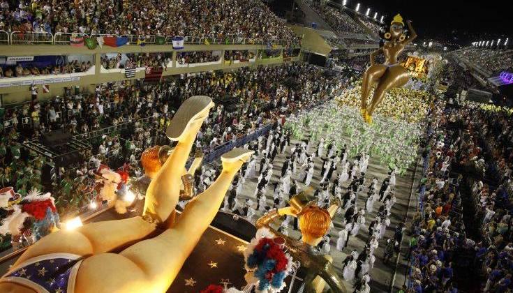 Το καρναβάλι του Ρίο και οι αριθμοί που κόβουν την ανάσα