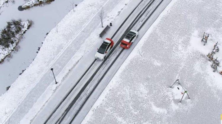 Τα ταξί χωρίς οδηγό βγήκαν στα χιόνια της Μόσχας για test drive