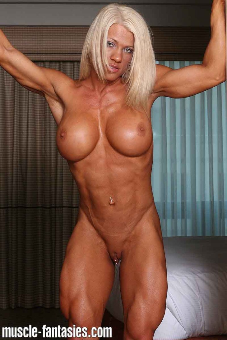 women fitness sex model