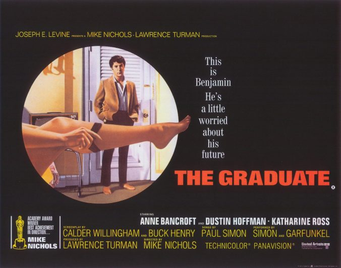 The poster for The Graduate
