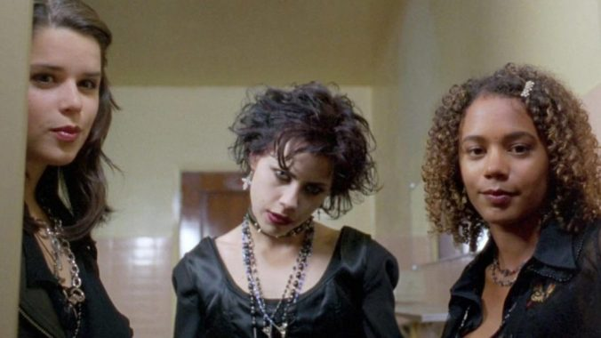 Nancy, looking wicked, with Bonnie and Rochelle