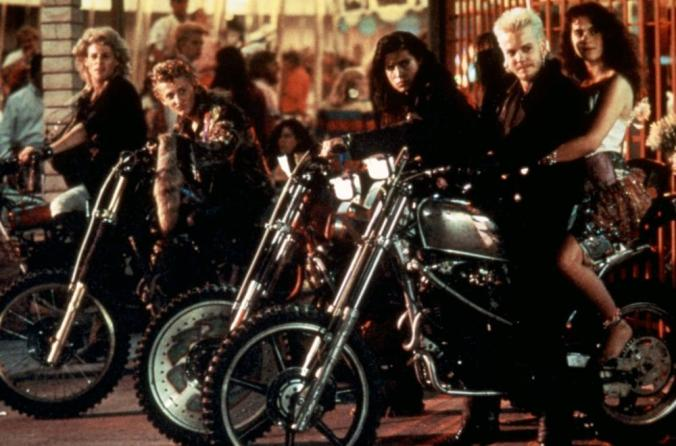 The Lost Boys on motorcycles
