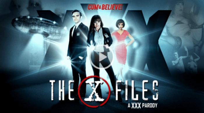 The X-Files: A XXX Parody Adult Dvd