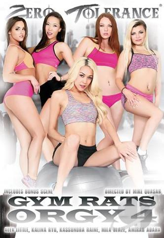Gym Rats Orgy 4, Porn DVD, Zero Tolerance, Mike Quasar, Alex Little, Kalina Ryu, Kassondra Raine, Mila Blaze, Amirah Adara, Tommy Pistol, Mark Wood, Anthony Rosano, Will Powers, All Sex, Athletes, Orgy