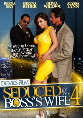Seduced By The Boss's Wife 4, Porn DVD, Devil's Film, Evan Stone, Tommy Gunn, Alyssa Lynn, Anthony Rosano, Marco Banderas, Reena Sky, Jack Vegas, Sheena Ryder, Olivia Wilder, Fetish, All Sex, Seduced-by-the-bosss-wife-4-hottest-sexofilm