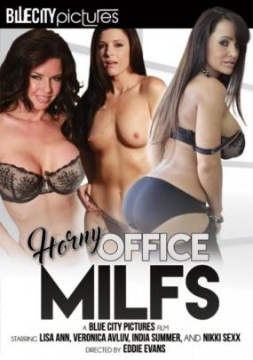 BlueCity Pictures, Eddie Evans, Lisa Ann, India Summer, Nikki Sexx, Veronica Avluv, All Sex, Mature, MILF, Office, Horny Office MILFs