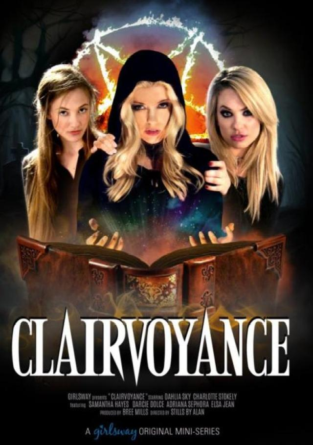 Clairvoyance (2016) - full free hd xxx dvd, Girlsway, Stills By Alan, Charlotte Stokely, Dahlia Sky, Adriana Sephora, Samantha Hayes, Elsa Jean, Darcie Dolce, All Girl, Lesbian, Feature, Threesomes, Clairvoyance, mainstay, Wiccan Religion, Clairvoyance