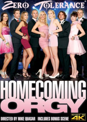 Homecoming Orgy, 2017 Porn DVD, Zero Tolerance Ent., Mike Quasar, Alison Rey, Chloe Couture, Summer Day, Sophia Grace, Blair Williams, Tyler Nixon, Dylan Snow, Chad Alva, Codey Steele, 18+ Teens, All Sex, Orgy