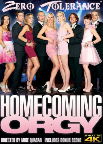 Homecoming Orgy, 2017 Porn DVD, Zero Tolerance Ent., Mike Quasar, Alison Rey, Chloe Couture, Summer Day, Sophia Grace, Blair Williams, Tyler Nixon, Dylan Snow, Chad Alva, Codey Steele, 18+ Teens, All Sex, Orgy