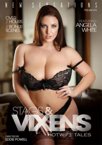 Stags & Vixens, 2017 Porn DVD, New Sensations, Eddie Powell, Lena Anderson, Angela White, Jessica Rex, Makenna Blue, Affairs & Love Triangles, All Sex, Big Boobs, Hotwife, Hotwife Tales