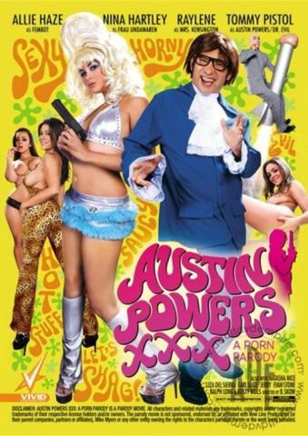 Vivid Presents Austin Powers XXX: A Porn Parody Movie
