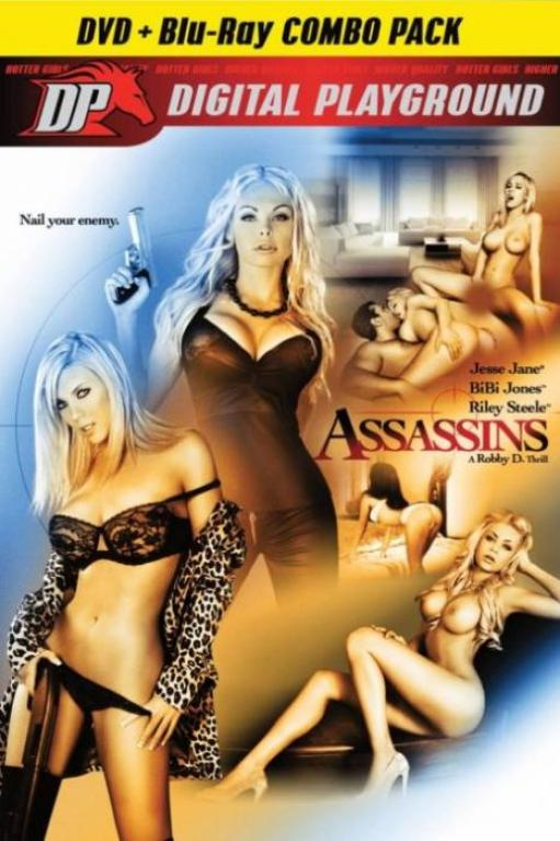 Assassins, Porn DVD, Digital Playground, Robby D., Jesse Jane, BiBi Jones, Riley Steele, Jynx Maze, Manuel Ferrara, Erik Everhard, Rocco Reed, Marco Rivera, Feature, Historical, Period Piece