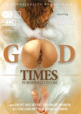 Pornfidelity's Good Times, Porn Fidelity, Ryan Madison, Demi Lopez, Karlee Grey, Violet Starr, Jenna Reid, Ryan Madison, Alex Legend, Logan Long, Adult DVD, All Sex, Blowjobs, Cream Pie, Cumshots, Prebooks