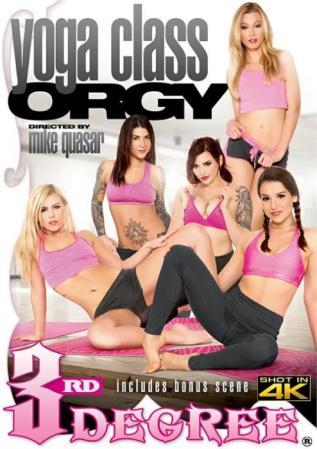Yoga Class Orgy, 2017 Porn DVD, Third Degree Films, Mike Quasar, Summer Day, Kasey Warner, Felicity Feline, Alexa Grace, Amber Ivy, Tommy Pistol, Derrick Pierce, Tyler Nixon, Dylan Snow, All Sex, Athletes, Orgy