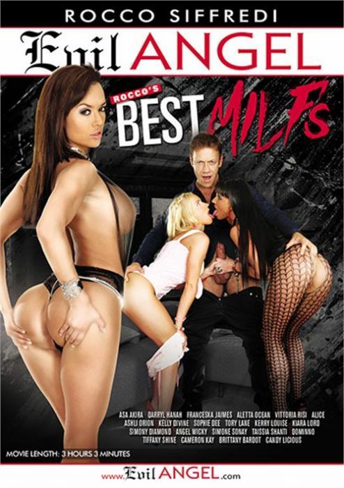 Rocco's Best MILFs XXX DVD from Evil Angel
