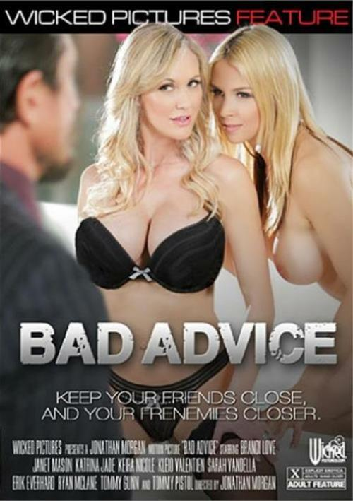Bad Advice Porn DVD from Wicked Pictures