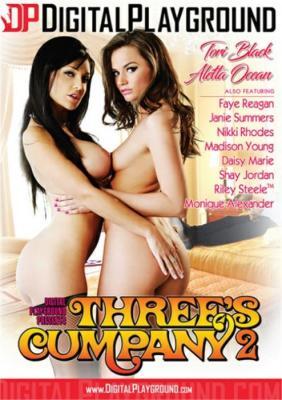 Three's Cumpany 2 Porn DVD from Digital Playground