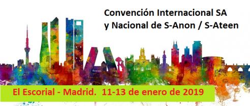Anuncio de la Convención Internacional SA – Madrid 2019