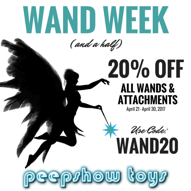 Wand Vibrators Sale at Peepshow Toys