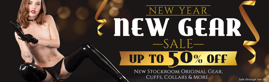 Stockroom New Year New Gear Sale