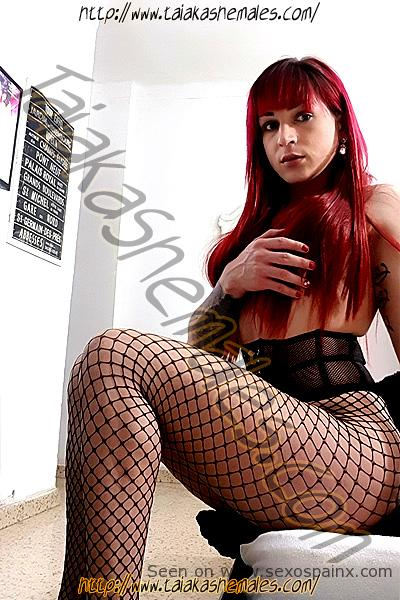 Redheads Shemale Escorts in Barcelona Colombian Ariel.