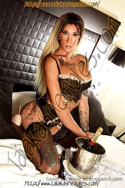 Niñata transexual Nicky Bermudez una belleza tatuada.