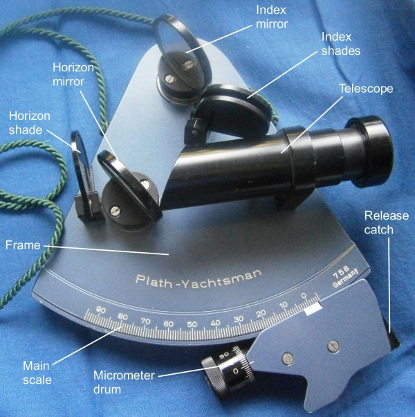 Plath Yachting Sextant Nautical