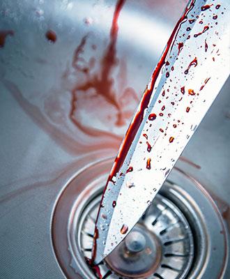 Brutal stabbings