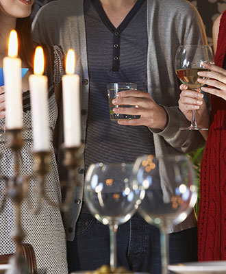 Navigating a dinner party