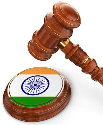 Indian judge
