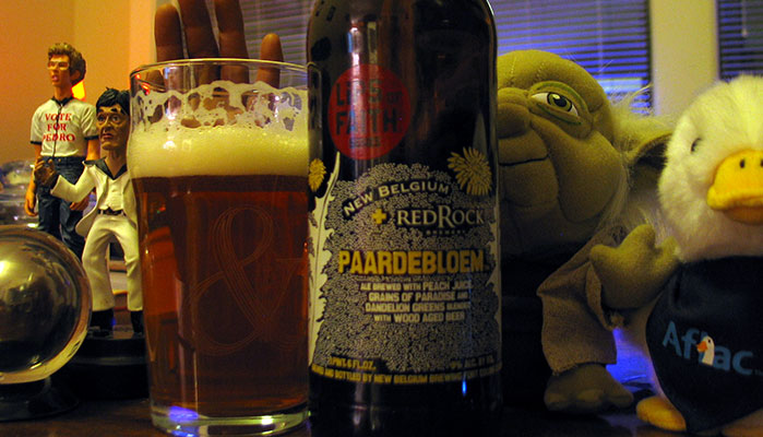 New Belgium/Red Rock Brewery Paardebloem