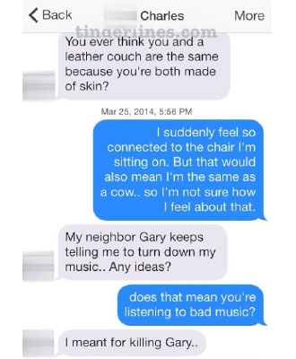 10 Best/Worst/Funny Tinder Conversations