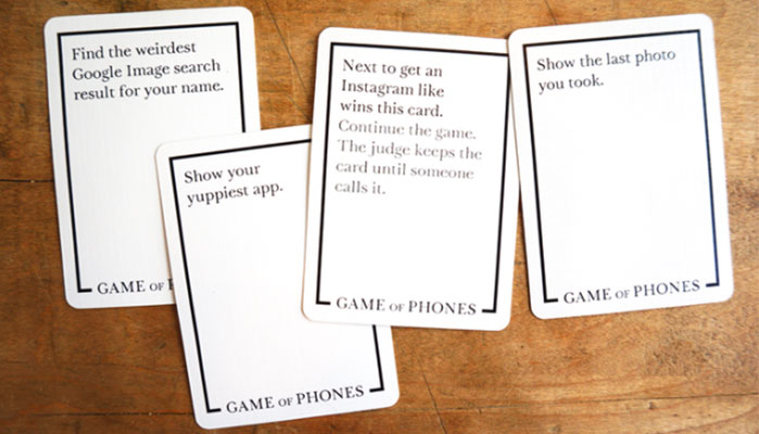Game of Phones on Kickstarter