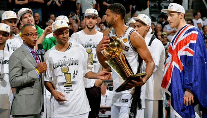 The San Antonio Spurs Are the NBA Champions