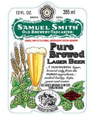 Henry Deltoid's Beer Review: Samuel Smith - Pure Brewed Organic