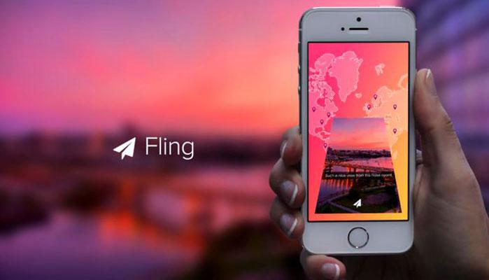 App Review: Fling - Random Messaging Around the World