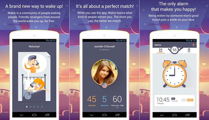 Wakie: The Wake-Up App With A Twist