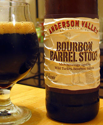 Henry Deltoid's Beer Review: Anderson Valley Bourbon Barrel Stout