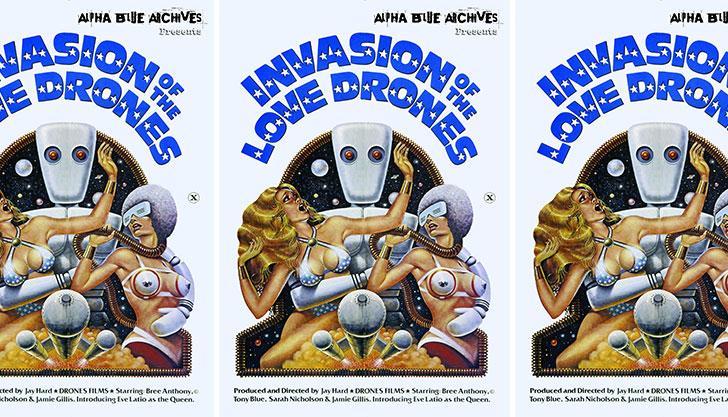 Retro Porn Review - Invasion of the Love Drones