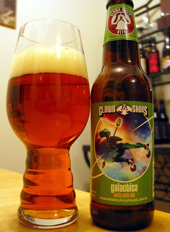 Henry Deltoid's Beer Review: Clown Shoes Galactica