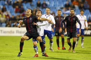 Momento en el derbi de la temporada pasada / www.elperiodicodearagon.com