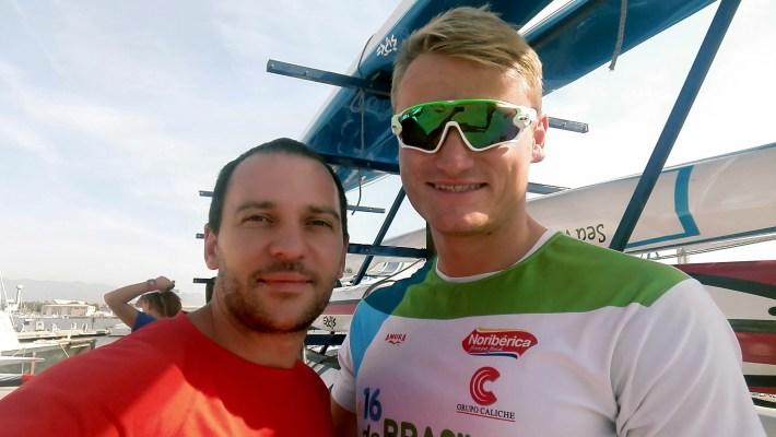 Rod Navar y Marcus Cooper. Foto Vía: Fuente Propia