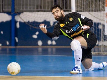 Prieto en un partido con Catgas Energia. Foto Vía: twitter.com