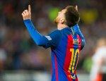Barcelona goleó 3-0 al Sevilla por la Liga Santander. El uruguayo Luis Suárez anotó de chalaca y Messi concretó un doblete. (Foto: AFP)