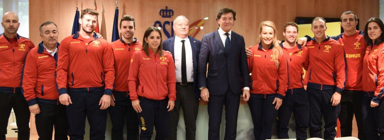 Equipos español - Mundial Anaheim 2018